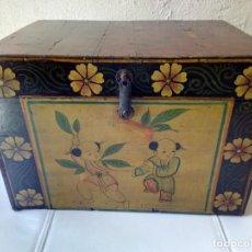Antigüedades: PRECIOSO COFRE CHINO DE SHANXI. Lote 215001848