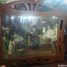 Antigüedades: LINDO MARCÓ XIX CON BONITA LAMINA. Lote 215064718