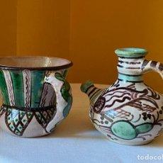 Antigüedades: CERÁMICA DE TERUEL - HERMANOS GORRIZ. Lote 215081690