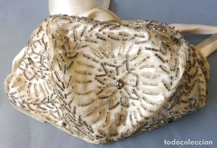 Antigüedades: ANTIGUO GORRO DE ENCAJE PARA NIÑA O MUÑECA PPIO. S. XX. - Foto 7 - 214946333
