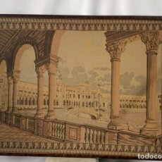 Antigüedades: TAPIZ ANTIGUO DE 1 METRO Y 23 CMS DE LARGO Y 89 CMS. DE ALTO. Lote 215101246