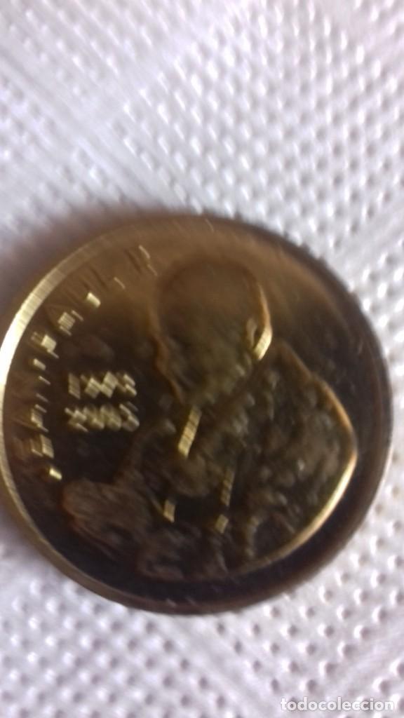 Antigüedades: Medalla aniversario de la muerte de Juan Pablo II - Foto 5 - 215106798