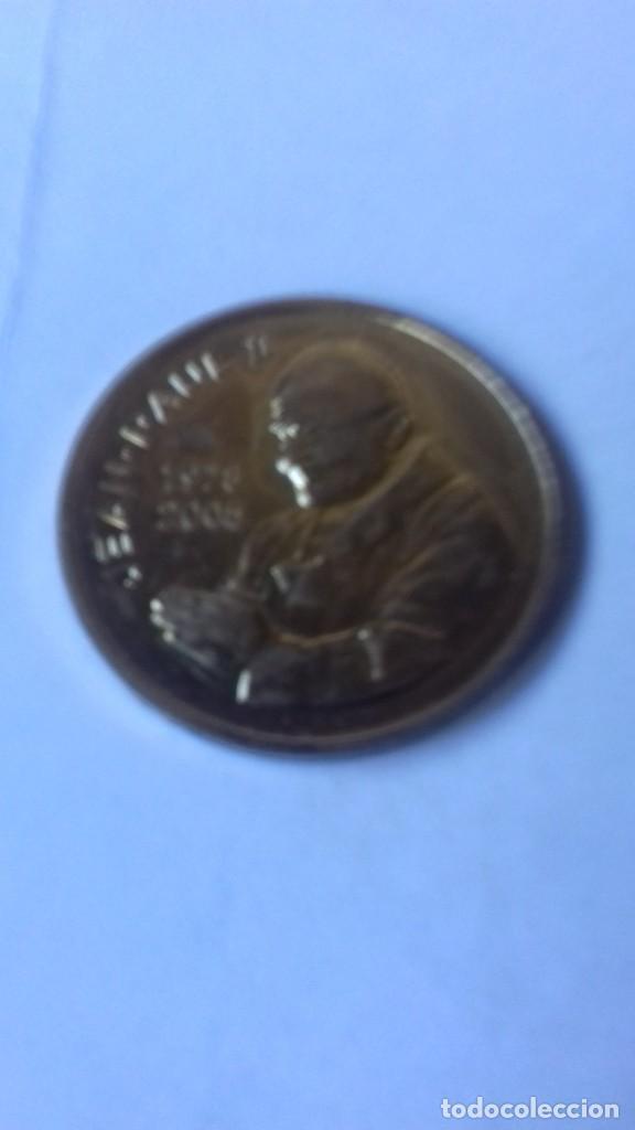 Antigüedades: Medalla aniversario de la muerte de Juan Pablo II - Foto 11 - 215106798