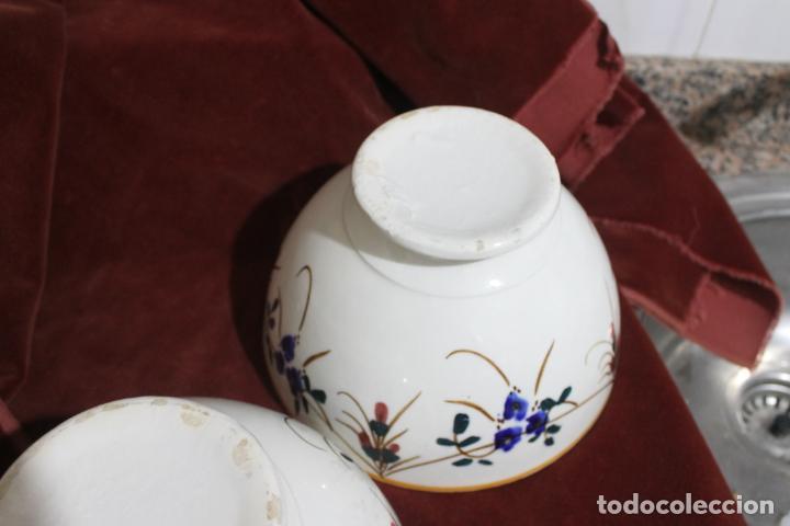 Antigüedades: DOS TAZONES MUY GRANDES MANISES, LEVANTINOS UNICOS - Foto 3 - 215133087