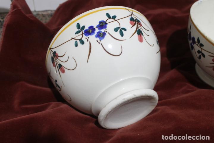 Antigüedades: DOS TAZONES MUY GRANDES MANISES, LEVANTINOS UNICOS - Foto 12 - 215133087