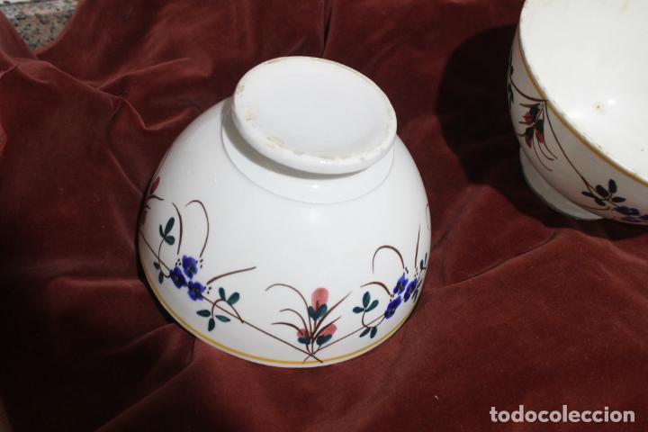 Antigüedades: DOS TAZONES MUY GRANDES MANISES, LEVANTINOS UNICOS - Foto 15 - 215133087
