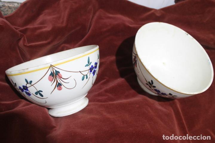 Antigüedades: DOS TAZONES MUY GRANDES MANISES, LEVANTINOS UNICOS - Foto 16 - 215133087