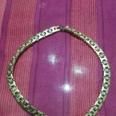 Antigüedades: BELLA GARGANTILLA VINTAGE DE MUJER, POSIBLE BAÑO DE PLATA.. Lote 215146310
