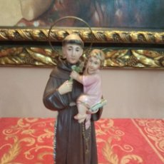 Antigüedades: FIGURA OLOT SAN ANTONIO CON SELLO DIMOSA ANTIGUO. Lote 215149531