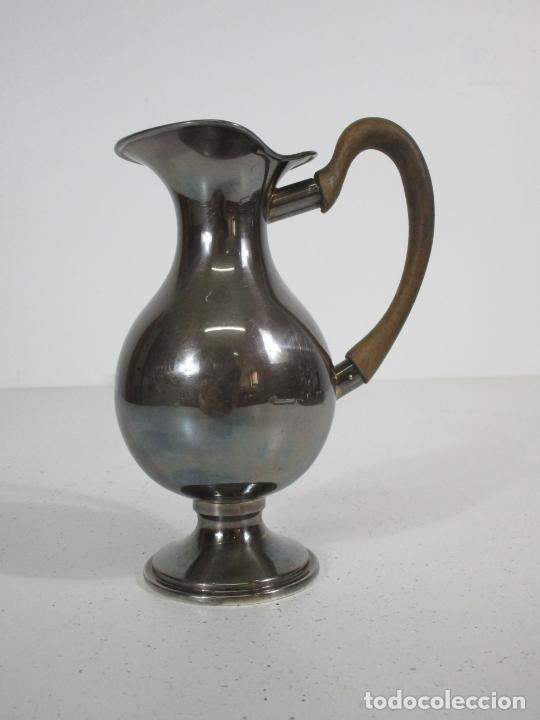 Antigüedades: Antiguo Juego de Café, Te en Baño de Plata - Alpaca Plateada - Mendiola España - Foto 24 - 215260542