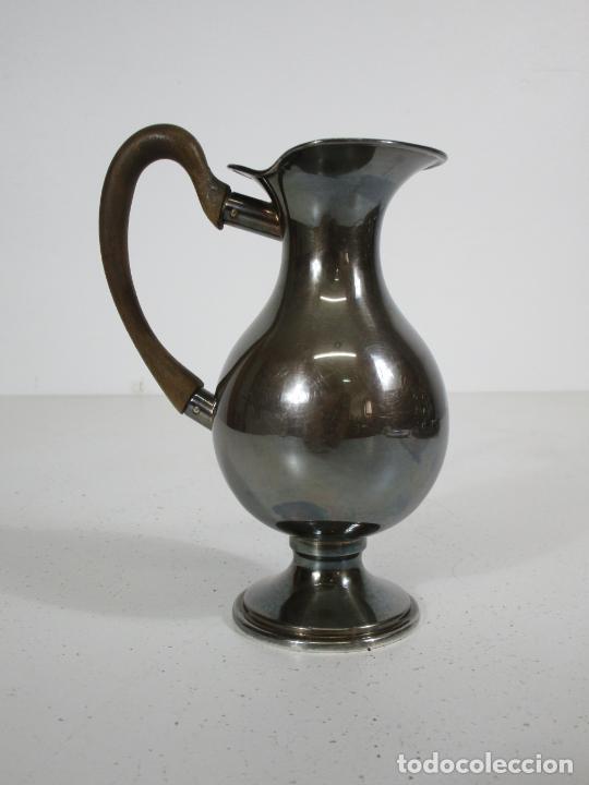 Antigüedades: Antiguo Juego de Café, Te en Baño de Plata - Alpaca Plateada - Mendiola España - Foto 26 - 215260542