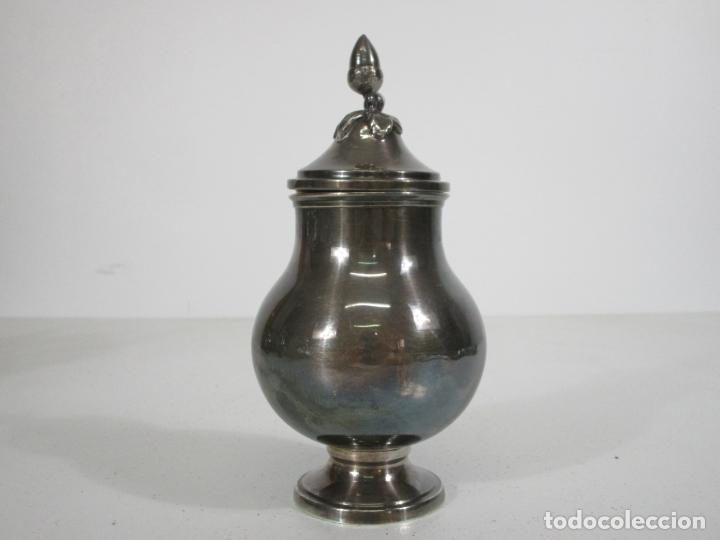 Antigüedades: Antiguo Juego de Café, Te en Baño de Plata - Alpaca Plateada - Mendiola España - Foto 31 - 215260542