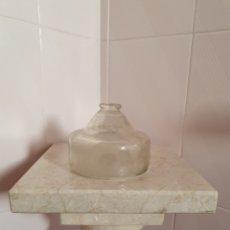 Antigüedades: ANTIGUA TRAMPA ATRAPA MOSCAS REALIZADA EN CRISTAL PATENTADA. Lote 114684240