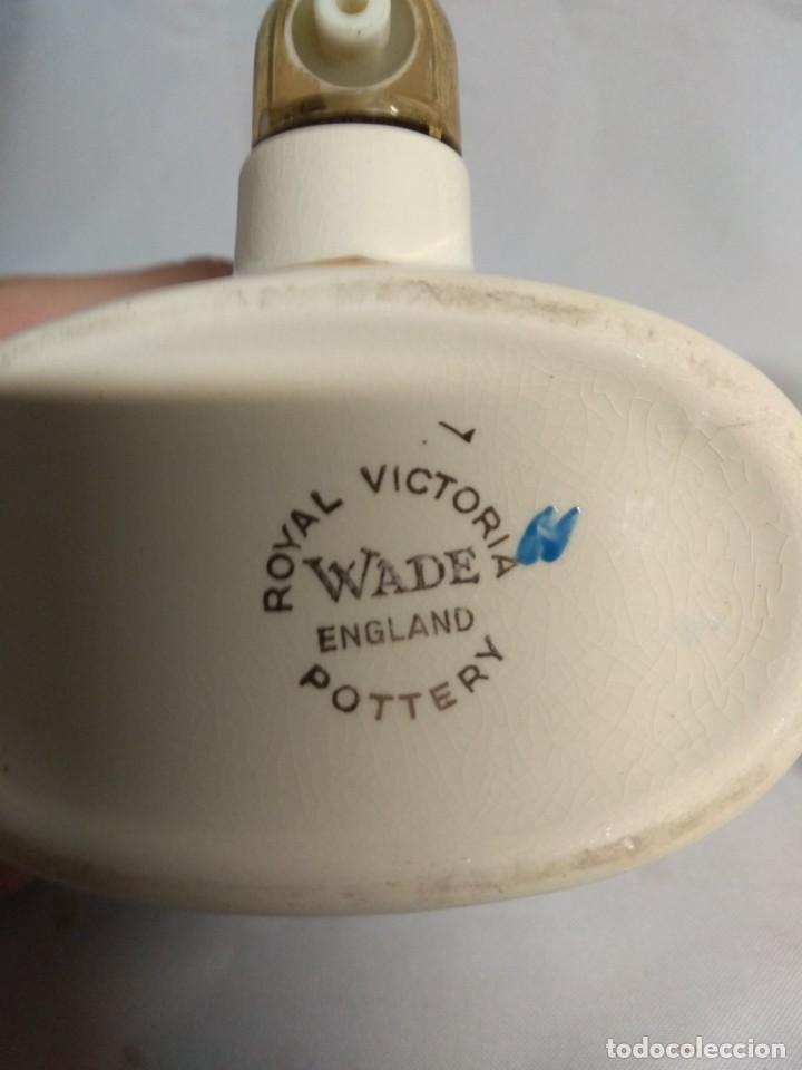 Antigüedades: Pareja de pequeños barriles fabricados en porcelana. Royal Victoria Wade England Pottery. - Foto 6 - 215273911