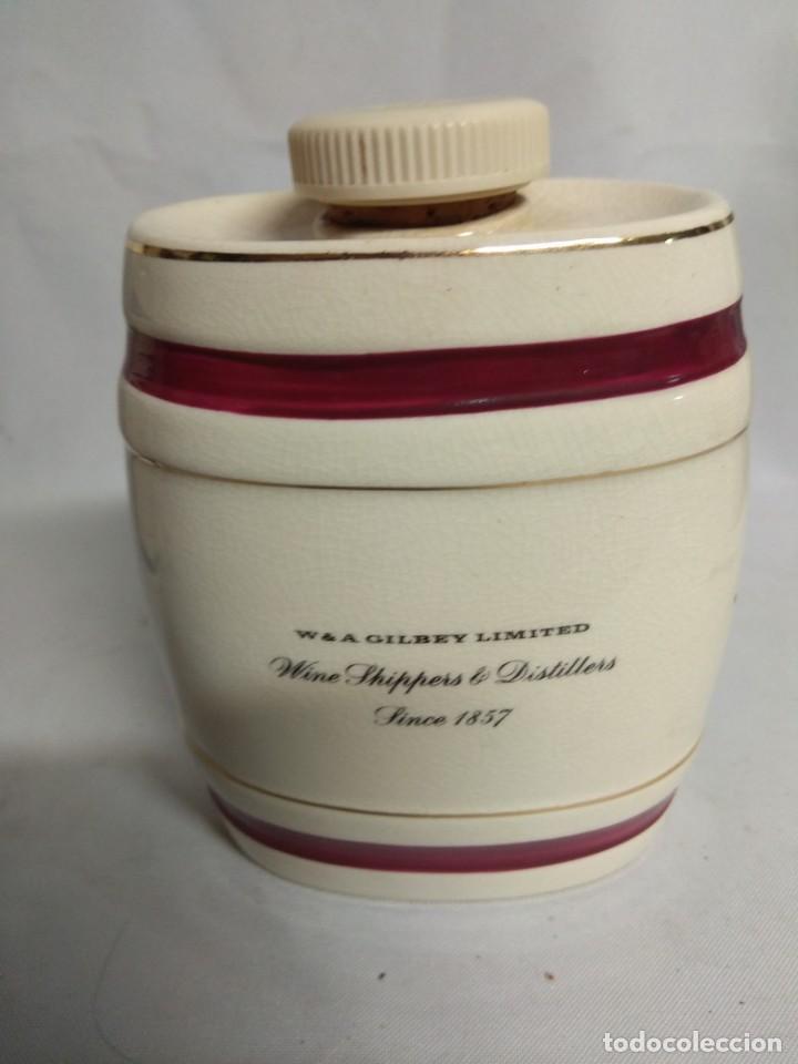 Antigüedades: Pareja de pequeños barriles fabricados en porcelana. Royal Victoria Wade England Pottery. - Foto 9 - 215273911