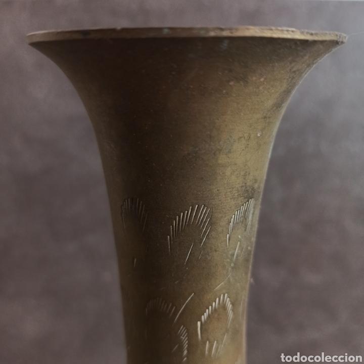 Antigüedades: JARRON DE LATON - Foto 2 - 38156490