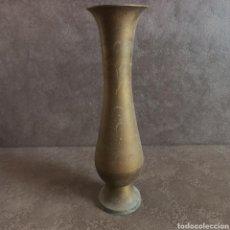 Antigüedades: JARRON DE LATON. Lote 38156490