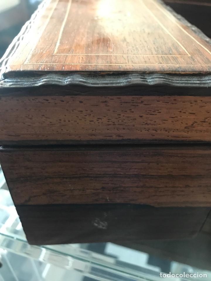 Antigüedades: Caja de té inglesa - Foto 5 - 215325071