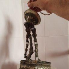 Antiquités: ANTIGUA LAMPARA DE TECHO INCOMPLETA. Lote 165291921