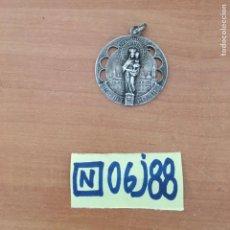 Antigüedades: MEDALLA PLATA ANTIGUA VIRGEN DEL PILAR. Lote 215393281