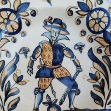 Antigüedades: PLATO CERAMICA DE TALAVERA FIRMADO CHACÓN S-210 VER FOTOS ! SM. Lote 215463921