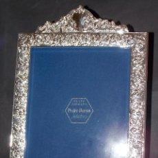 Antigüedades: PORTA RETRATO PLATA VINTAGE DURAN. Lote 215500806