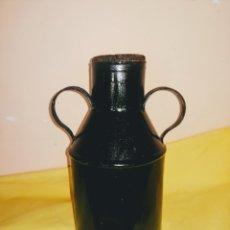 Antigüedades: ALCUZA-RECIPIENTE-CANTARO DE CHAPA PARA ACEITE. ENVIO CERTIFICADO INCLUIDO.. Lote 215511708
