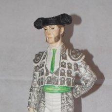 Antigüedades: FIGURA ESCULTURA DE PORCELANA ALGORA TORERO SERIE LIMITADA. Lote 215550451