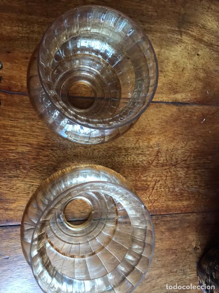 Antigüedades: Dos tulipas años 70-80 - Foto 3 - 215575532