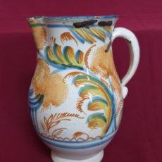 Oggetti Antichi: MAGNIFICA JARRA EN CERAMICA DE RIBESALBES,(CASTELLON),S. XIX. Lote 215587465