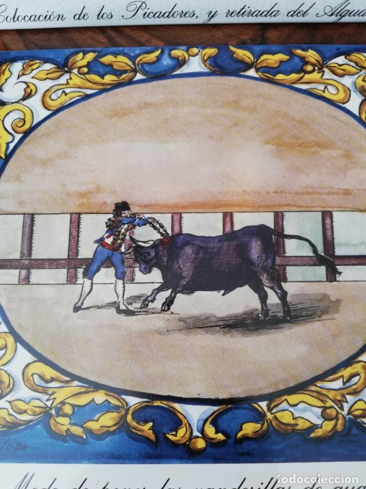 Antigüedades: Cuatro azulejos cerámicos - Foto 2 - 215588931