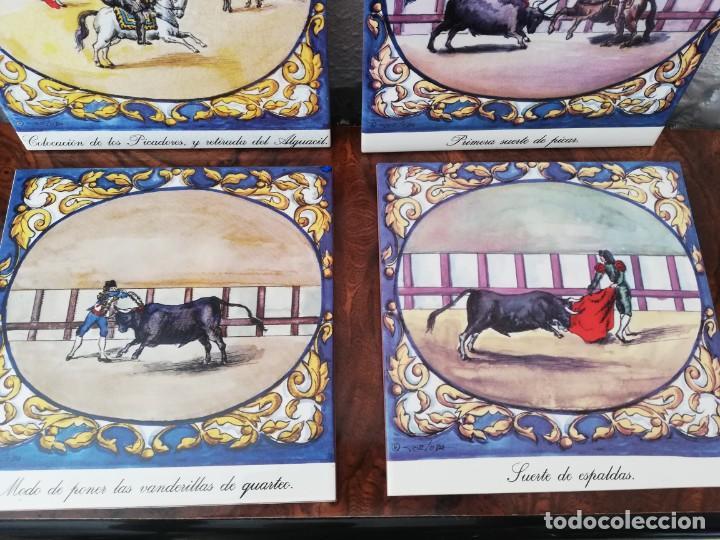 Antigüedades: Cuatro azulejos cerámicos - Foto 5 - 215588931