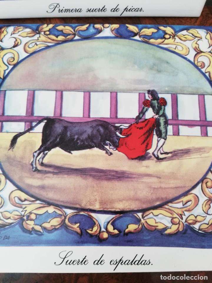 Antigüedades: Cuatro azulejos cerámicos - Foto 10 - 215588931