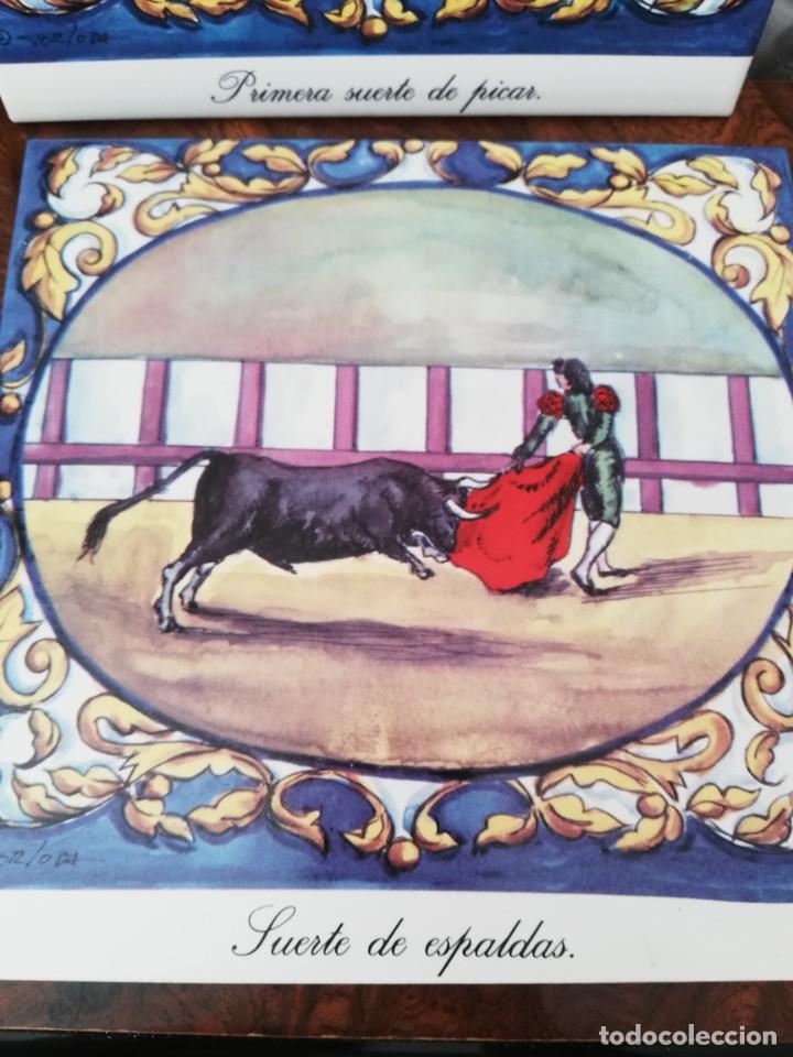 Antigüedades: Cuatro azulejos cerámicos - Foto 12 - 215588931