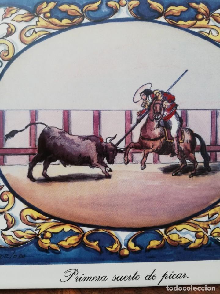 Antigüedades: Cuatro azulejos cerámicos - Foto 13 - 215588931