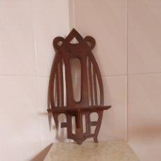 Antigüedades: PRECIOSA REPISA REALIZADA EN MADERA. Lote 215641362