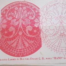 Antiguidades: EL CONSULTOR DE LOS BORDADOS-LAMINA Nº716. Lote 215641411