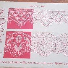 Antiguidades: EL CONSULTOR DE LOS BORDADOS-LAMINA Nº610. Lote 215641500