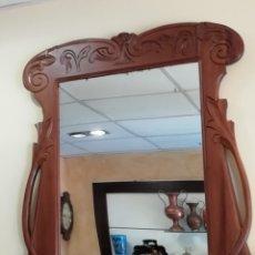 Antigüedades: MARCO CON ESPEJO. Lote 215681182