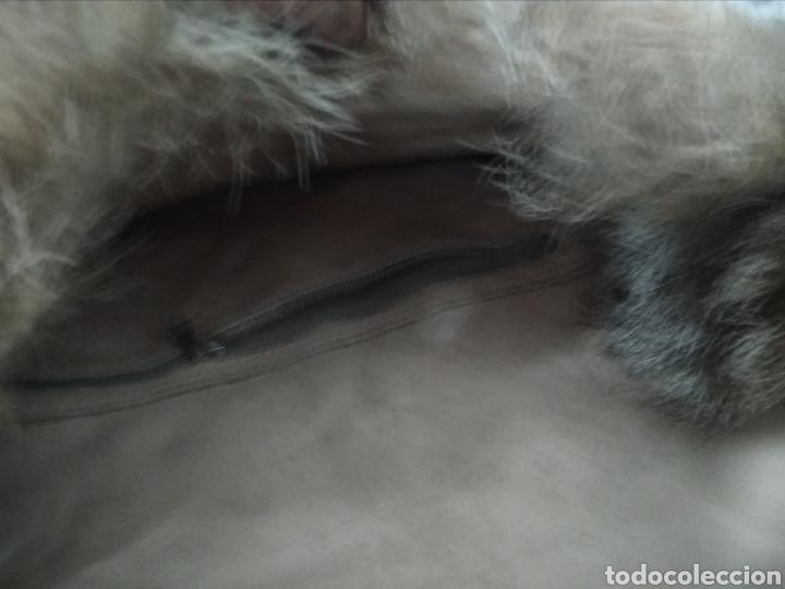 Antigüedades: Original y exclusivo Bolso hecho con piel zorro disecado.Tal cual se ve. Siglo XX. - Foto 12 - 215765977