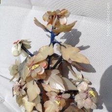Antigüedades: JARDINERA CHINA DE PIEDRAS DURAS. Lote 215809113