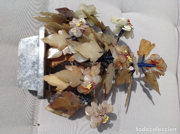 Antigüedades: Jardinera China de piedras duras - Foto 2 - 215809113
