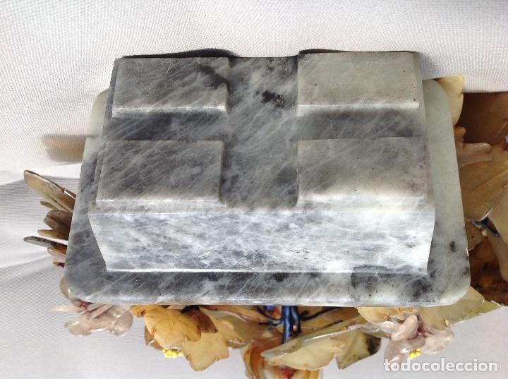 Antigüedades: Jardinera China de piedras duras - Foto 4 - 215809113
