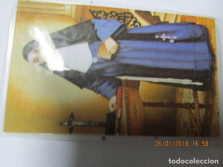 Antigüedades: RELIQUIA M. PAULA DE JESUS FRANCISCANA TELA TOCADA RESTOS DE LA M PAULA - Foto 10 - 215898002