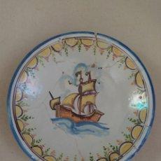 Antigüedades: PLATO PORCELANA DE TALAVERA. Lote 215910657