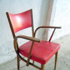 Antigüedades: SILLÓN BUTACA ART DECO. Lote 215931438