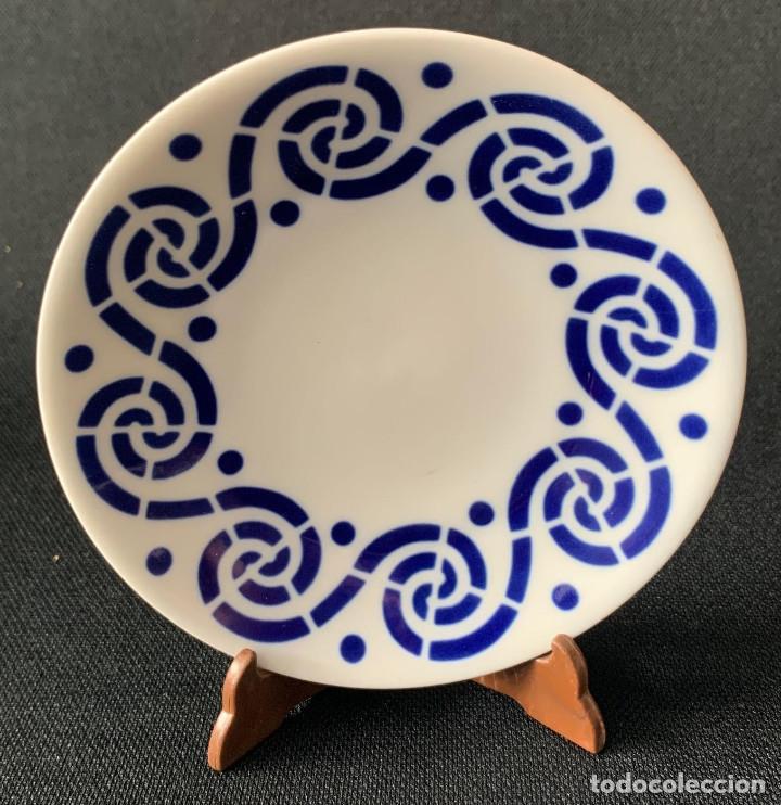 PLATO CAFE - SARGADELOS C - 26 (Antigüedades - Porcelanas y Cerámicas - Sargadelos)