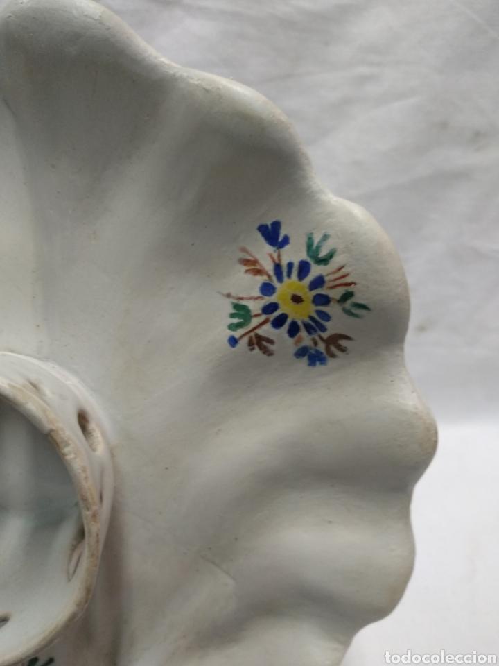 Antigüedades: Mancerina de Alcora restaurada - Foto 4 - 215966333