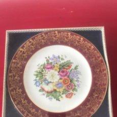 Antigüedades: PLATO DE PORCELANA INGLESA. WEATHERBY GIFTWARE - ENGLAND - ROYAL FALCON. A ESTRENAR. CAJA ORIGINAL.. Lote 215985205