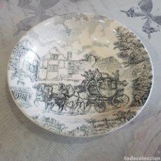 Antigüedades: PLATO DE CERAMICA POSTA SAN CLAUDIO. Lote 216078476